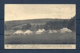 ECOLE: Un Camp,  Gelopen Postkaart 1922 (GA13578) - Belgien