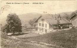 SUISSE VD Chalet De Cornaux S. Clarens Altitude 700 M - 2 Scans - VD Vaud