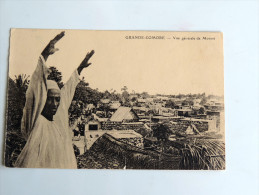 Carte Postale Ancienne : GRANDE COMORE : Vue Générale De MORONI - Comores