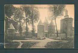 SOMBREFFE: Vue Extérieure De L'Ancien Chateau Fort,  Gelopen Postkaart 1927 (GA13696) - Sombreffe