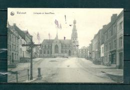 WALCOURT: Collégiale Et Grand Place,  Gelopen Postkaart 1910 (GA13730) - Walcourt