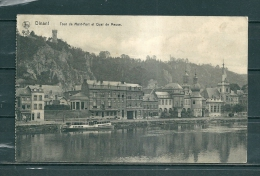 DINANT: Tour De Mont-Fort Et Qual De Meuse,  Gelopen Postkaart  (GA14134) - Dinant