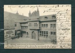 DINANT: Entrée Principale De L'Expostion De Dinanderies,  Gelopen Postkaart 1903 (GA14147) - Dinant