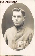 CARTE PHOTO : PRISONNIER DE GUERRE GEPRÜFT KRIEGSGEFANGENENLAGER GUERRE MILITAIRE KRIEG CASSEL KASSEL - Guerra 1914-18