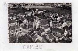 EN AVION AU DESSUS DE  MOUROUX (Seine Et Marne) - L'Eglise Et Le Centre Du Pays (S. M. 1958) - Ohne Zuordnung