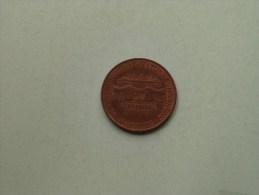 BUNDESAUTOBAHN WESTLICHE UMGEHUNG 1968 - 1975 ELBTUNNEL Hamburg / Koperkleurig 13.6 Gr. - 35 Mm. ( Details Zie Foto ) ! - Pièces écrasées (Elongated Coins)