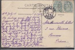 FRANCE Arras La Grand Place 1905 Used Postcard Carte Postale #16400 - Covers & Documents