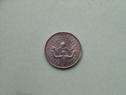 RINNOVAMENTO E RICONCILIAZIONE - Anno Santo 1975 / Zilverkleurig 14.7 Gr. - 35 Mm. ( Details Zie Foto ) ! - Pièces écrasées (Elongated Coins)