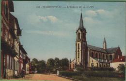 67 MARIENTHAL - L'église Et La Place - Frankrijk
