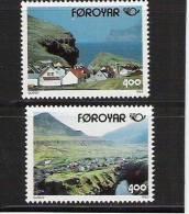 1993 Färöer  Mi. 246-7 **MNH   Norden - Europese Gedachte