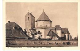 OTTMARSHEIM - L'Eglise Octogone - Ottmarsheim