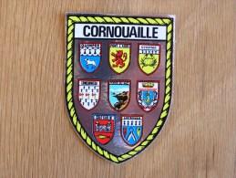 CORNOUAILLE  Bretagne Ecusson Blason Armoiries Ville France Souvenirs Autocollant Sticker Autres Collections - Autocollants