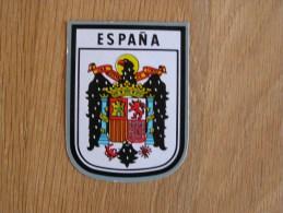 ESPANA ESPAGNE  Ecusson Blason Armoiries Souvenirs Autocollant Sticker Autres Collections - Autocollants