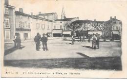 SAINT GENIS LAVAL - La Place, Un Dimanche - Non Classificati