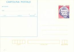 I709) ITALIA CARTOLINA POSTALE CASTELLO DI MONSELICE DA LIRE 500 NUOVA - 6. 1946-.. Repubblica
