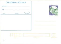 I772) ITALIA CARTOLINA POSTALE CASTELLO DI S.GIORGIO DA LIRE 550 NUOVA - 6. 1946-.. Repubblica