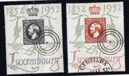 1952  Centenaire Du Timbre Luxembourgeois