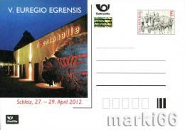 Czech Republic - 2012 - Egrensis In Schleiz- Special Postcard With Hologram - Postwaardestukken