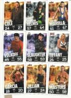 N°3    SLAM ATTAX       LOT DE 9 CARTES  VOIR SCAN - Trading Cards