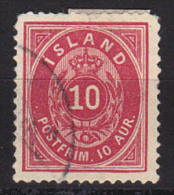 Iceland Scott # 11 Used Very Fine - Used Stamps