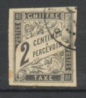 Colonies Générales, N° YT. TT. 2 Oblitéré. - Portomarken