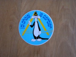 J´ AI CHOISI LE CORBIER Gros Minet Souvenirs Autocollant Sticker Autres Collections - Stickers