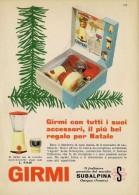 # GIRMI ROBOT DA CUCINA 1960s Advert Pubblicità Publicitè Reklame Roboter-Kucke Household Casa Menage Haushalt - Manifesti