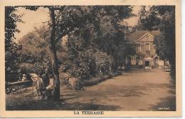 MORET SUR LOING - Hostellerie Du Prieuré - La Terrasse - Moret Sur Loing