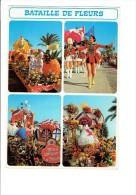 06 NICE Bataille De Fleurs Et Défilé De Majorettes - Multivues - Char Fruits  Confits - N°61 - Markets, Festivals