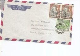 Guyane Britannique ( Lettre Par Avion De 1960 Vers La Grande-Bretagne à Voir) - Guyana Britannica (...-1966)