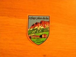 REFUGE PLAN DU LAC Vanoise    Souvenirs Autocollant Sticker Autres Collections - Autocollants