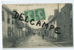 CPA -Blangy Sur Bresle - La Rue Saint Denis - Blangy-sur-Bresle