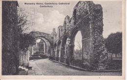PC Canterbury - Monastery Ruins, Canterbury Cathedral - 1932 (5054) - Canterbury