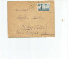 CARTA CIRCULADA  POSTES ALGERIE AÑO 1945   OHL - Algerije (1962-...)