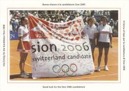 TENNIS, SWITZERLAND, 1998, Special Card !! - Tennis
