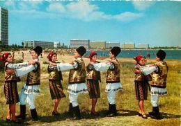 Dancers Of North Moldavia At  Mamaia, Romania Postcard - Romania