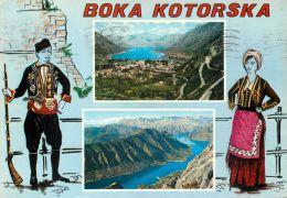 Boka Kotorska Bay Of Kotor, Montenegro Postcard Used Posted To UK 1970 Stamp - Montenegro