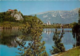 Bled, Slovenia Postcard Used Posted To UK 1970s - Slovenia