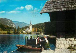 Bohinj, Slovenia Postcard Used Posted To UK 1969 Stamp - Slovenia