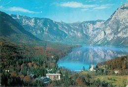 Bohinj, Slovenia Postcard Used Posted To UK 1988 Stamp - Slovenia