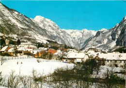 Bovec, Slovenia Postcard Used Posted To UK 1988 Stamp - Slovenia