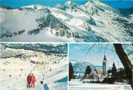 Triglav Skiing, Slovenia Postcard Used Posted To UK 1983 Stamp - Slovenia