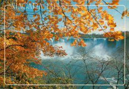 Niagara Falls, New York NY, United States USA US Postcard Used Posted To UK 1986 Stamp - NY - New York