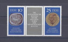 ALLEMAGNE ORIENTALE. 25e Anniversaire De L'Association Culturelle Allemande - [6] Democratic Republic
