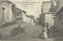 Terremoto Nelle Calabrie - Settembre 1905 - Entrata Del Passe Di Pescopio ( Voir Verso ) - Italy