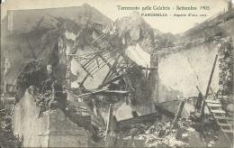 Terremoto Nelle Calabrie - Settembre 1905 - Parghelia -Aspetto D´una Casa ( Voir Verso ) - Italy
