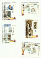 Espagne Bloc N°122 à 131  Cote 6.50 Euros - Blocks & Sheetlets & Panes