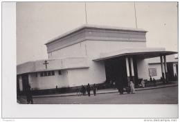 Au Plus Rapide Carte Photo Photo Véritable Rabat La Gare Croix De Lorraine - Rabat