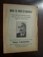 NOCH 18, NOCH 24 Maanden Rede In De Kamer Door  Edgar LALMAND ( Kommunistische Partij ) In 1951 ( Details Zie Photo ) ! - Autres