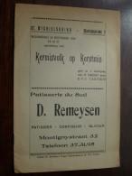KERMISVOLK Op KERSTMIS 1956 / Opvoering - Spel In 3 Bedrijven ( St. Michielskring Antwerpen ) ( Details Zie Photo ) ! - Theatre